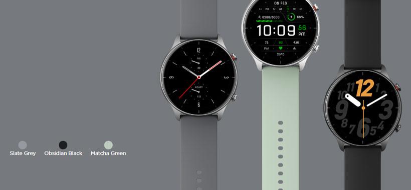 انواع بندهای ساعت Amazfit GTR 2e