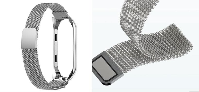 بند فلزی دستبند سلامتی Xiaomi Mi Band 3