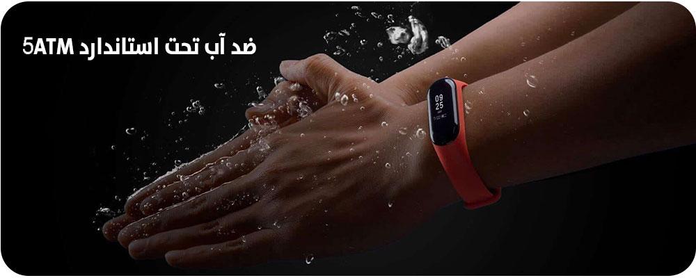دستبند هوشمند ضدآب شیائومی می بند3