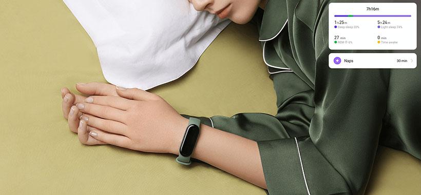 نظارت خواب دستبند شیائومی 5