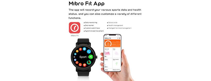 ساعت XPAW001 Mibro Air Smart Watch