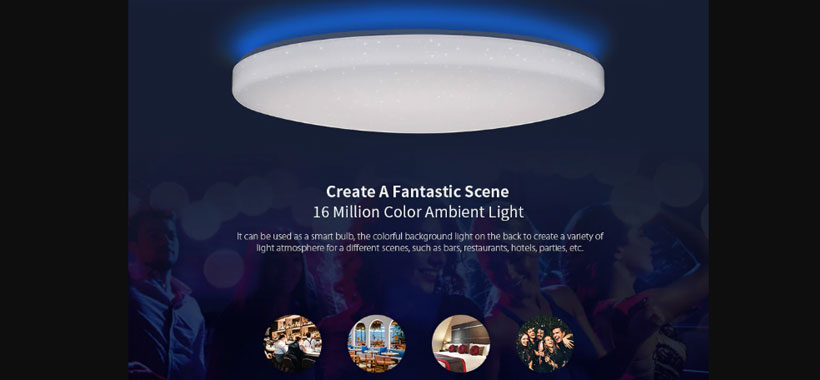 لامپ سقفی هوشمند شیائومی YLTD02YL