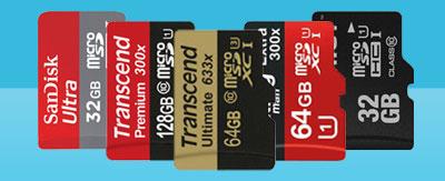 کارت حافظه میکرو USB