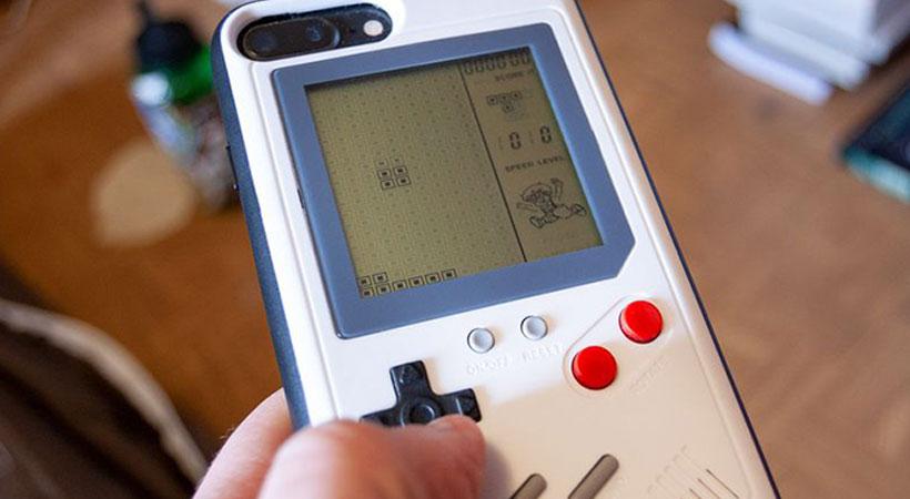Game Boy قاب آیفون به سبک کنسول بازی دستی