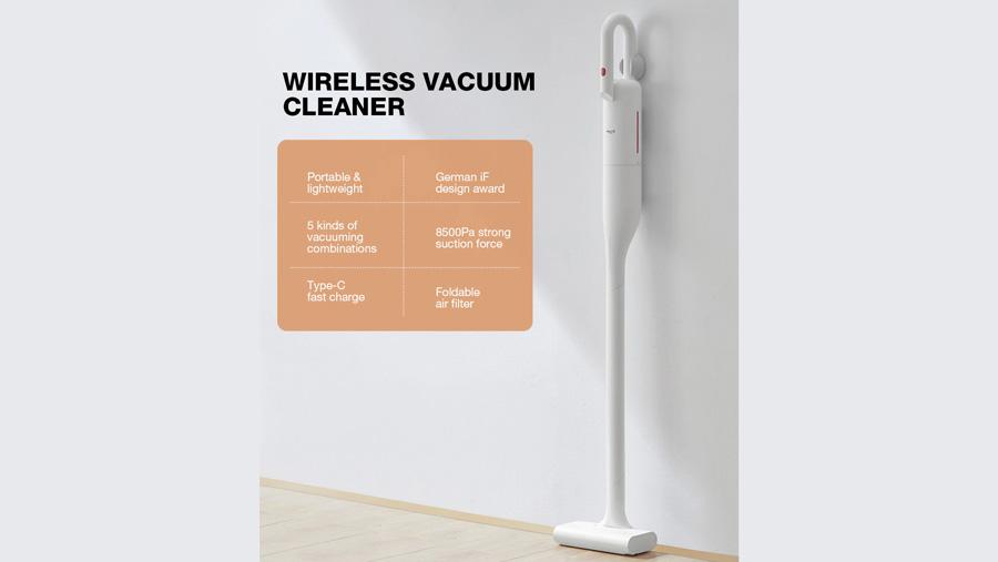 جارو دستی بیسیم دیرما Deerma VC01 Wireless Vacuum Cleaner