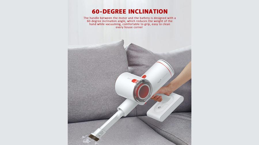 جارو دستی بیسیم دیرما Deerma VC25 Wireless Vacuum Cleaner دارای زاویه 60 درجه