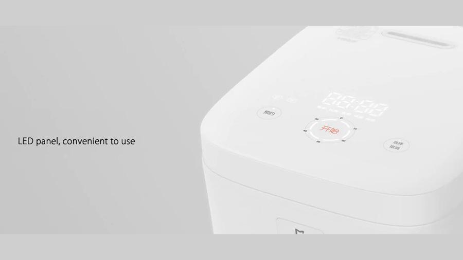 پلوپز برقی هوشمند شیائومی Xiaomi IH 1L Smart Electric Rice Cooker دارای نشانگر LED