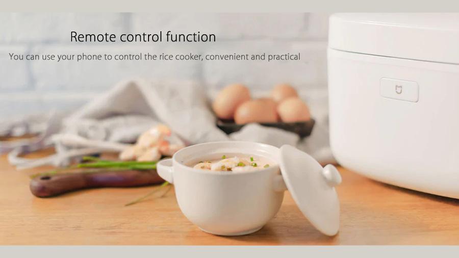 پلوپز برقی هوشمند شیائومی Xiaomi IH 1L Smart Electric Rice Cooker دارای قابلیت ریموت کنترل