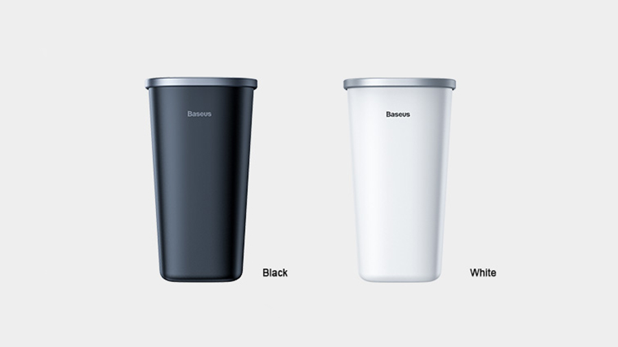 سطل زباله مخصوص ماشین مدل Baseus Dust-free Vehicle-mounted Trash Can