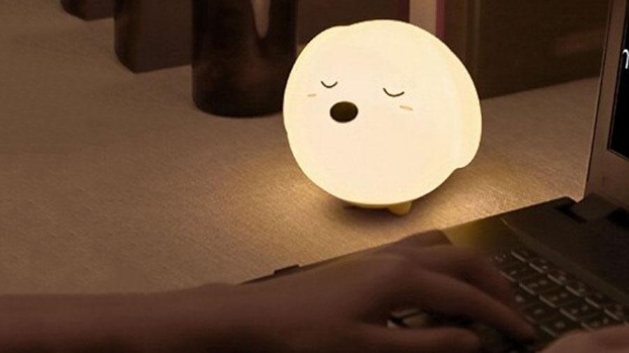 چراغ خواب عروسکی بیسوس مدل Baseus Cute Series Doggie Silicone Night Light قابل استفاده در تمام محیط های خانگی
