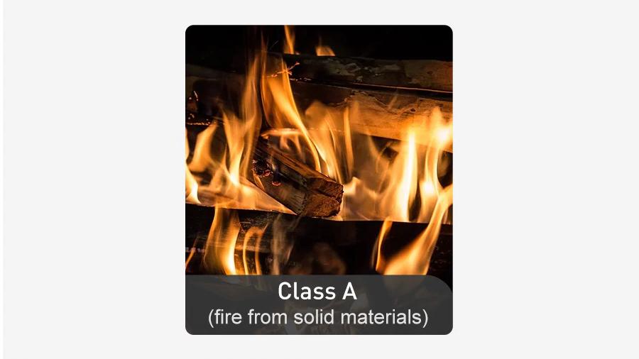 حریق کلاس A