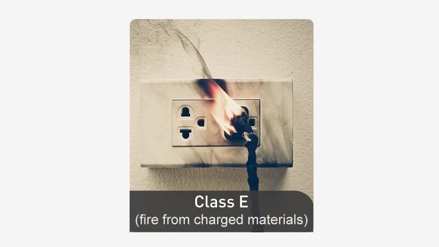 حریق کلاس E