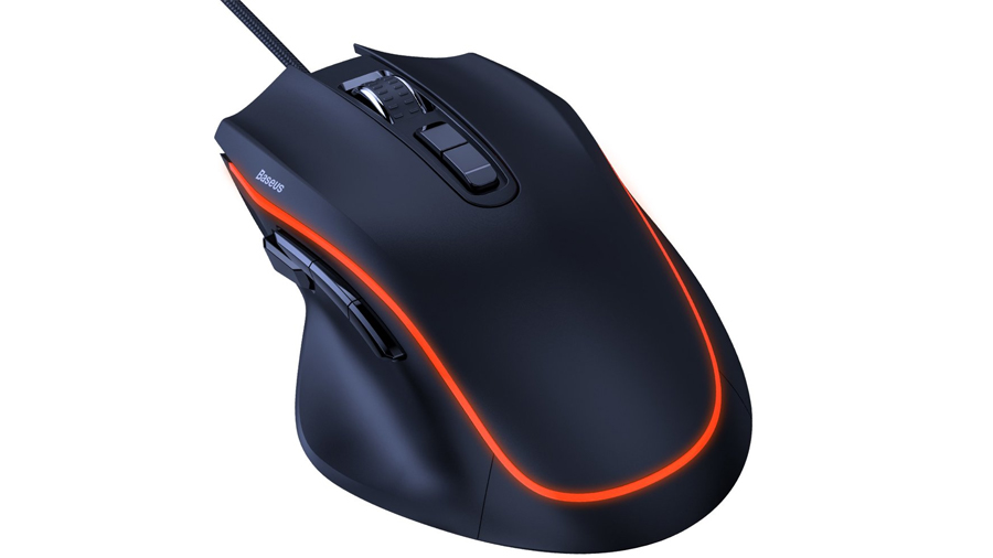 موس مدل بیسوس BASEUS GAMO 9 Programmable Buttons Gaming Mouse GM01