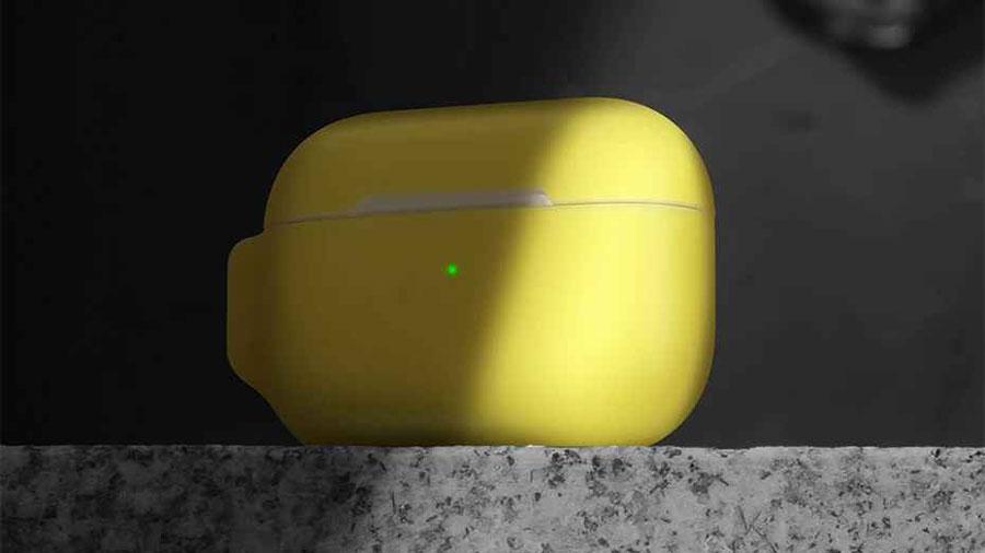 نشانگر LED ایرپاد پرو در قاب سیلیکونی بیسوس