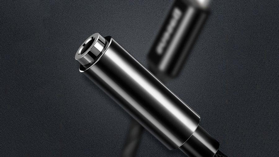 کیفیت ساخت بالای کابل تبدیل لایتنینگ به 3.5 میلیمتری بیسوس مدل Baseus iP Male to 3.5mm Female Adapter L3.5