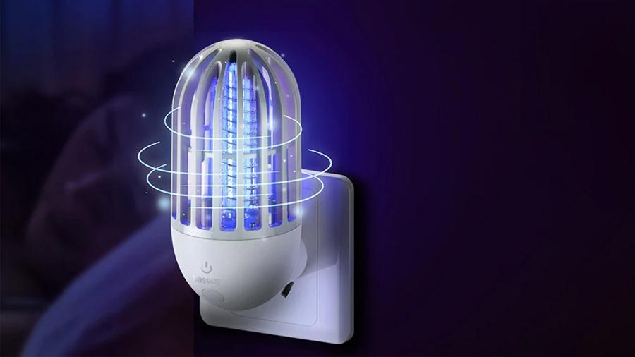 لامپ دفع حشرات بیسوس مدل  Linlon Outlet Mosquito Lamp