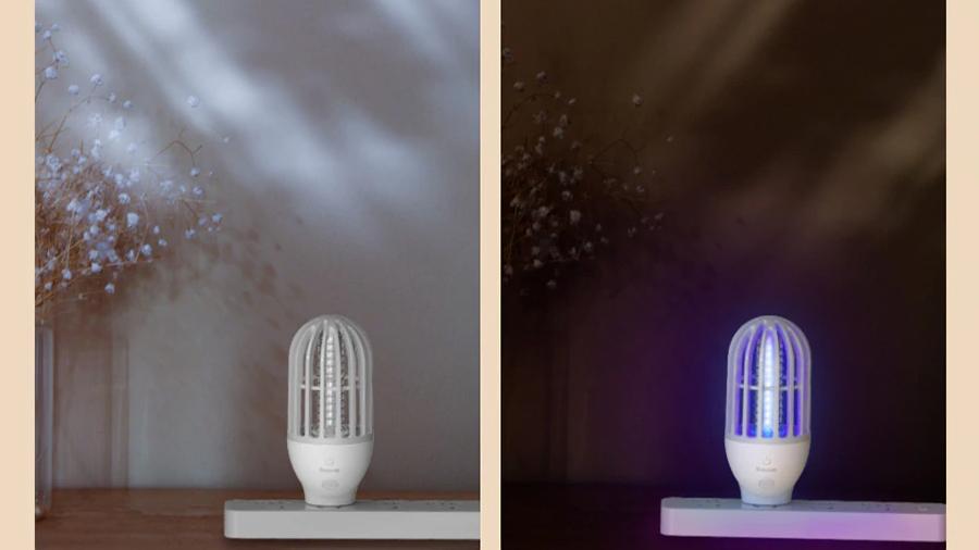روشن خاموش شدن اتوماتیک لامپ حشره کش بیسوس.