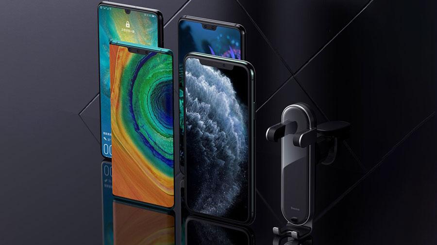 کیفیت ساخت ممتاز نگهدارنده موبایل بیسوسPanguin Gravity PhoneHolder
