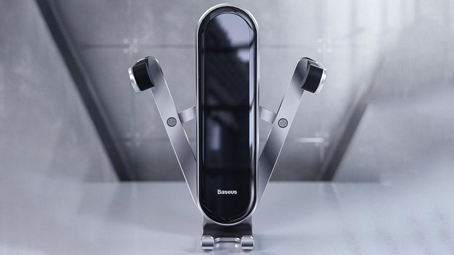 طراحی زیبا و کیفیت ساخت بسیار بالای پایه نگهدارنده موبایل بیسوس Panguin Gravity PhoneHolder
