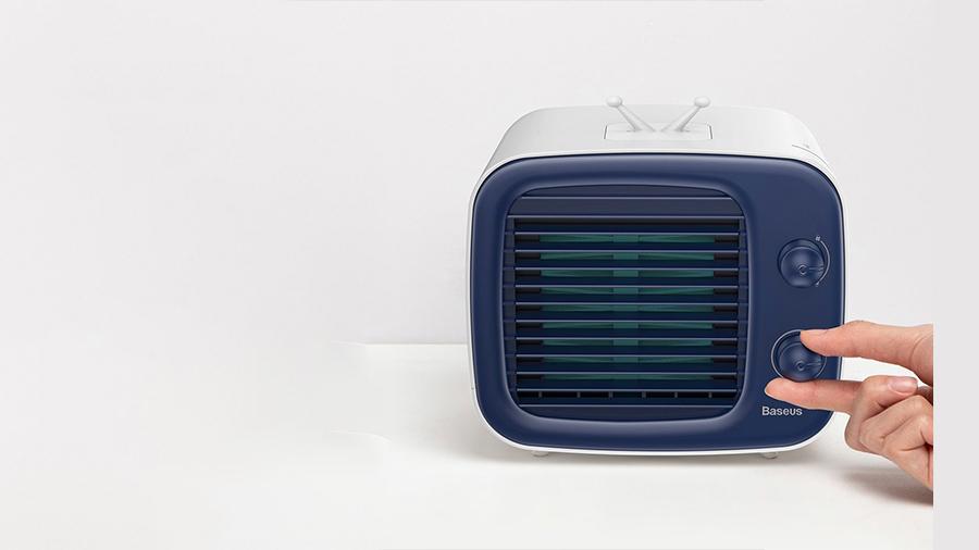 کولر قابل حمل بیسوس مدل Baseus Time desktop evaporative cooler