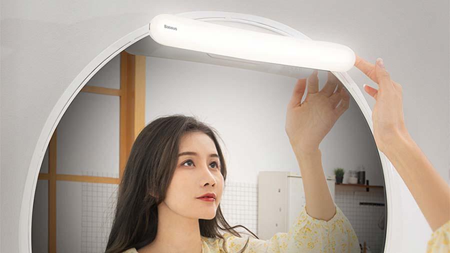 نور طبیعی چراغ هوشمند بیسوس با قابلیت تنظیم روشنایی