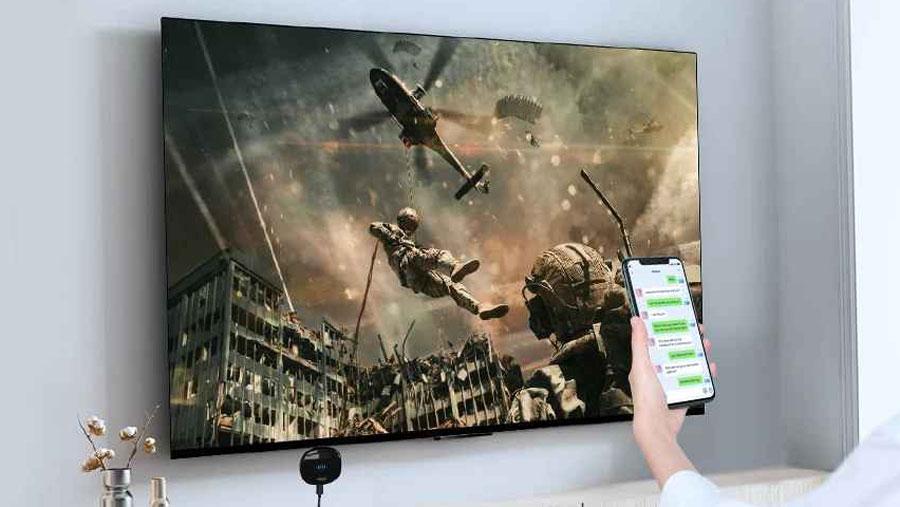 قابلیت Multi Screen در دانگل تایپ سی به اچ دی ام آی بیسوس