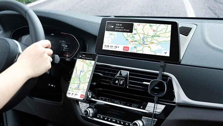 قابلیت اتصال به سیستم سرگرمی خودرو در دانگل تایپ سی به اچ دی ام آی بیسوس