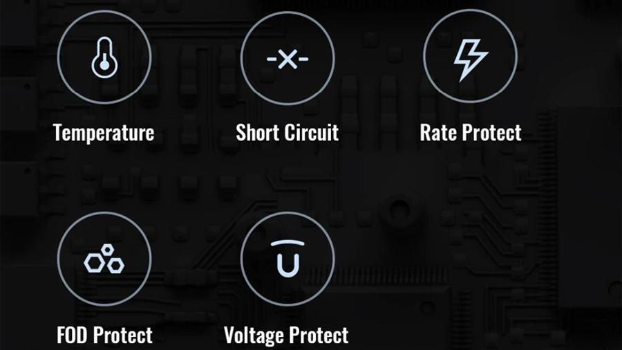 ایمنی پایه شارژر بی سیم شیائومی مدل Mi 20W Wireless Charging Stand