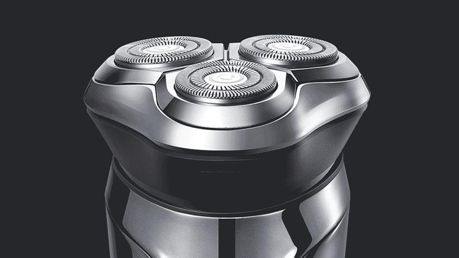 تیغ ها و مش های اتیل تقویت شده و خود تیز شونده ماشین اصلاح صورت Pinjing 3D smart shaver
