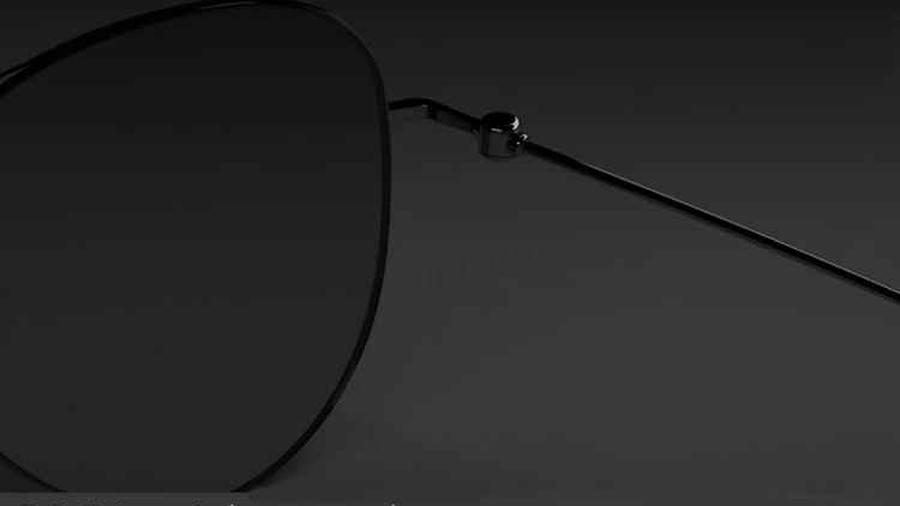 عینک آفتابی پولاریزه شیائومی Mi Polarized Navigator Sunglasses Pro  دارای فریم از جنس فولاد زنگ نزن