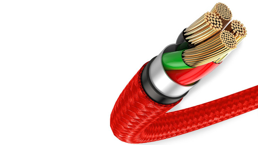 کابل شارژ و انتقال دیتای 25 سانتی متری میکرو یو اس بی بیسوس Baseus halo data cable USB For MicroUSB 0.25M قابلیت شارژ سریع