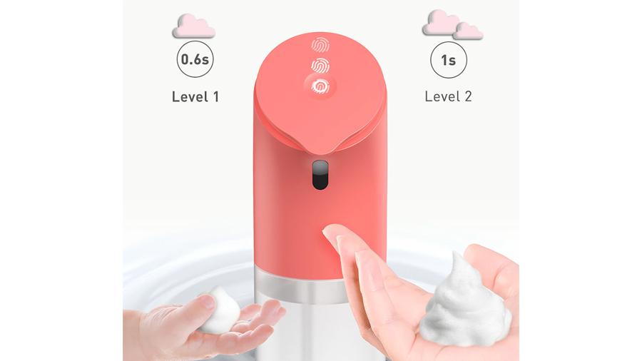 سنسور تشخیص دست پمپ مایع دستشویی فوم ساز ویژه کودکان بیسوس Baseus Minidinos Hand Washing machine