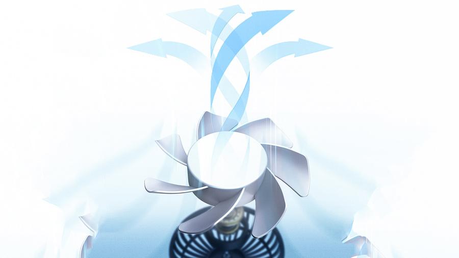 پنکه قابل حمل مخصوص خودرو بیسوس   BASEUS Departure Car Vehicle Cooling Fan (Seat Type) دارای فن قدرتمند