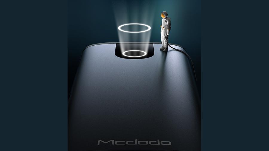 هاب آداپتور 10 در 1 تایپ سی مک دودو MCDODO 10 in 1 Type-C HUB HU-742 دارای نشانگر LED