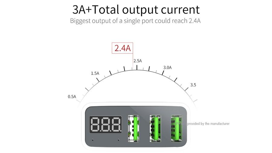 شارژر دیواری فست 3 پورت مک دودو MCDODO 3 Port Travel Charger Adapter CH-503 قابلیت شارژ سریع