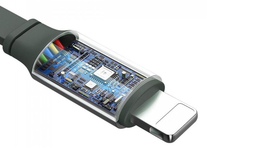 کابل شارژ 1.2 متری جمع شونده تایپ سی + لایتنینگ + میکرو یو اس بی مک دودو Mcdodo 3 in 1 Retractable Charging Cable 1.2M CA-725 دارای تراشه کنترل هوشمند