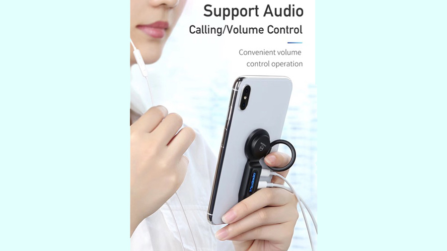 مبدل 4 در 1 لایتنینگ به لایتنینگ و خروجی صدا مک دودو MCDODO 4 in 1 Audio Adapter iPhone CA-629 دارای قابلیت کنترل موسیقی و مکالمه از روی هندزفری