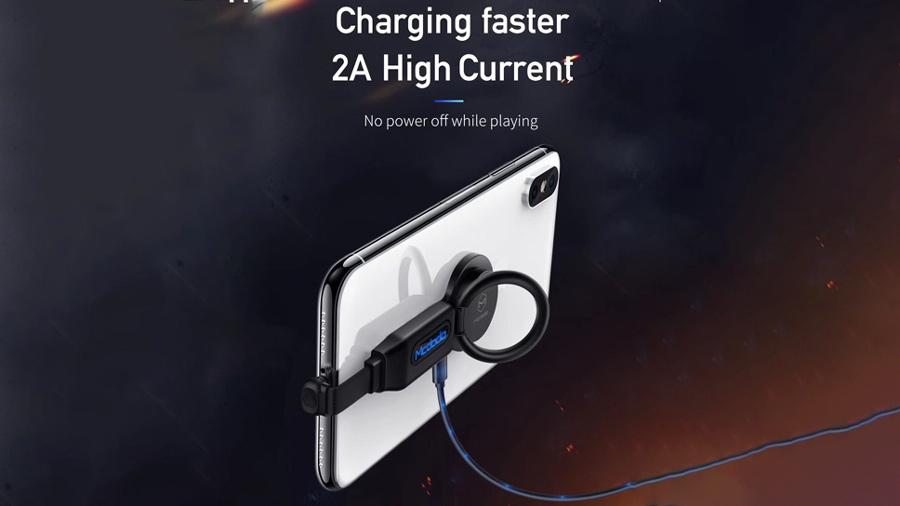 مبدل 4 در 1 لایتنینگ به لایتنینگ و خروجی صدا مک دودو MCDODO 4 in 1 Audio Adapter iPhone CA-629 با قابلیت شارژ سریع