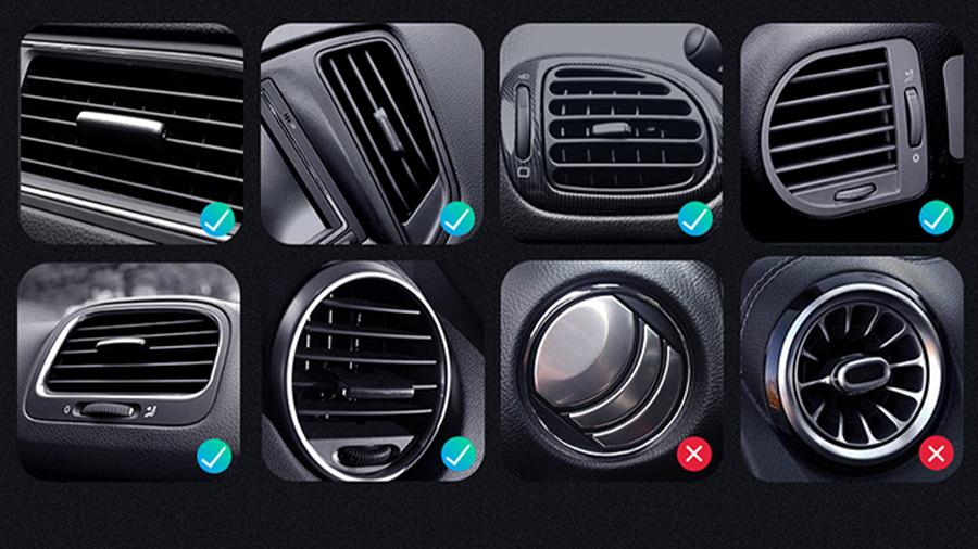 هولدر موبایل مک دودو Mcdodo Car Air Vent Phone Mount CH-575 سازگار با انواع دریچه هوای خودرو