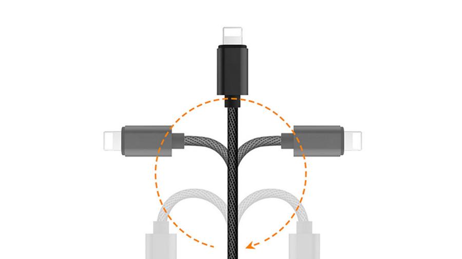مبدل لایتنینگ به لایتنینگ و جک 3.5 میلی متری صدا مک دودو MCDODO Lightning to Lightning + 3.5mm CA-347 دارای کیفیت ساخت بالا