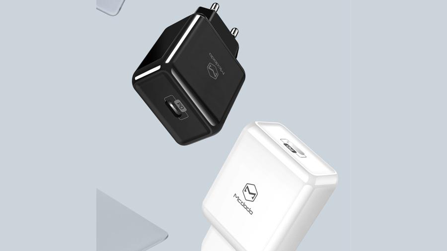 شارژر دیواری 18 وات با قابلیت فست شارژ مک دودو Mcdodo PD Ultra Fast 18w Charger CH-665