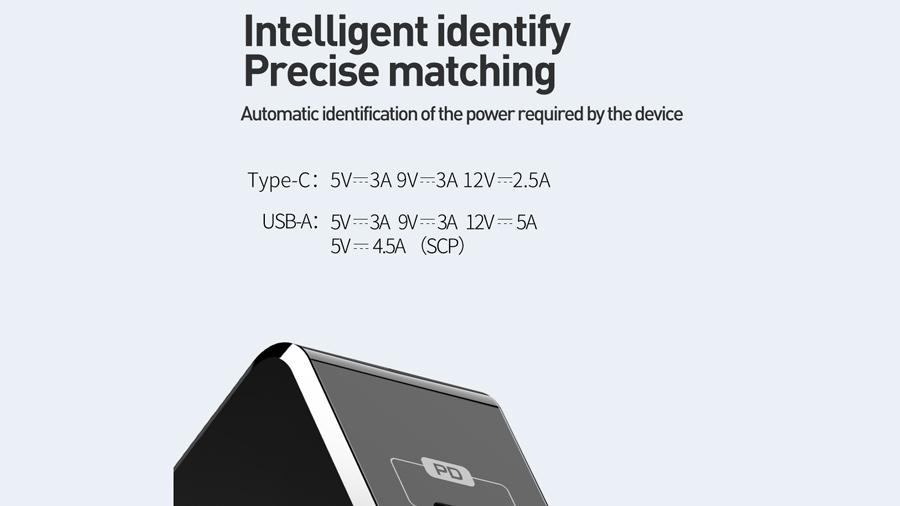 شارژر دیواری 30 وات دو پورت مک دودو MCDODO Dual Quick Charge 30W CH-692 قابلیت تشخیص نوع جریان باتری موبایل