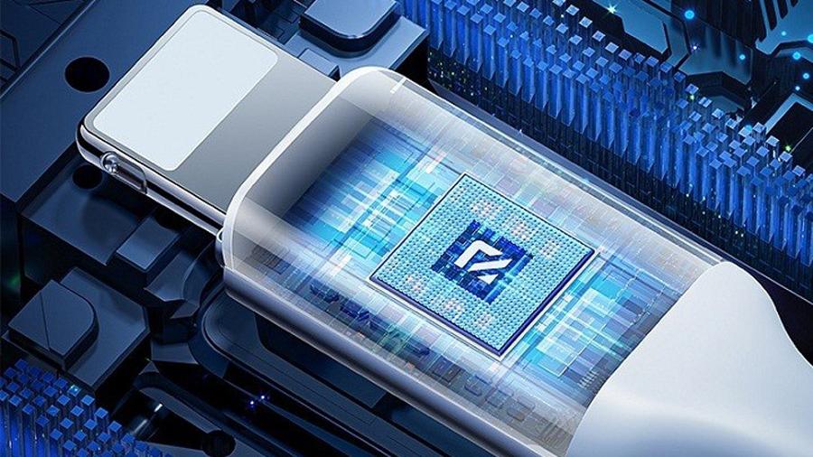 کابل شارژ 1.8 متری لایتنینگ راک مدل ROCK Magnetic Silicon Lightning Charge & Synce Cable 1.8M دارای تراشه کنترل جریان
