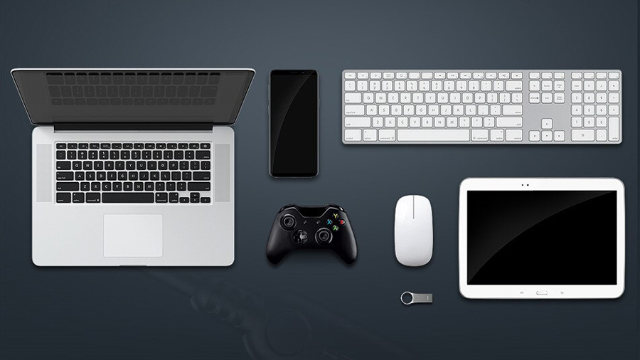 استفاده آسان از مبدل تایپ سی به یو اس بی 3.0 11 سانتی متری راک ROCK Type-C to USB 3.0 Adapter  قابلیت اتصال اغلب دستگاه های یو اس بی به مبدل