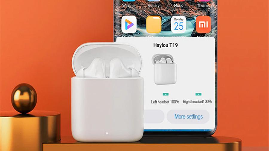 نرم افزار هندزفری  بی سیم هايلو Haylou T19 True Wireless Earbuds برای شخصی سازی