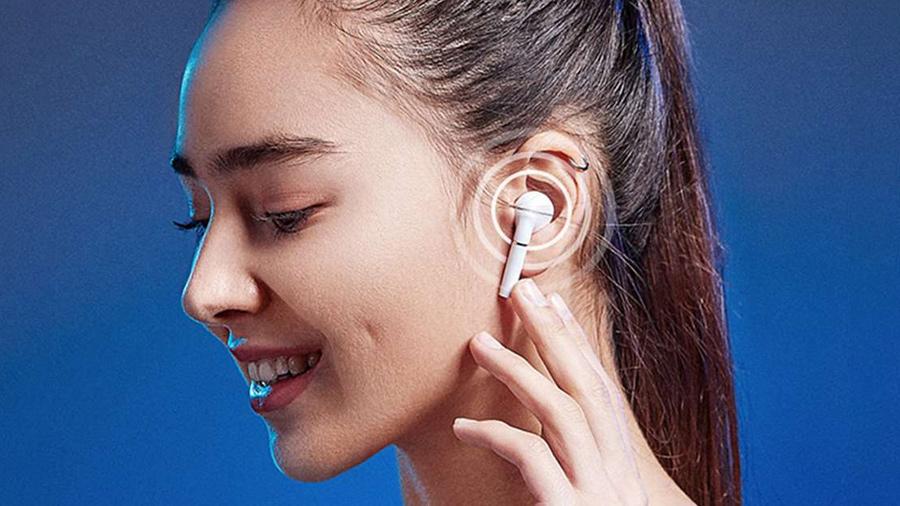 کلید های لمسی هندزفری بی سیم هايلو Haylou T19 True Wireless Earbuds