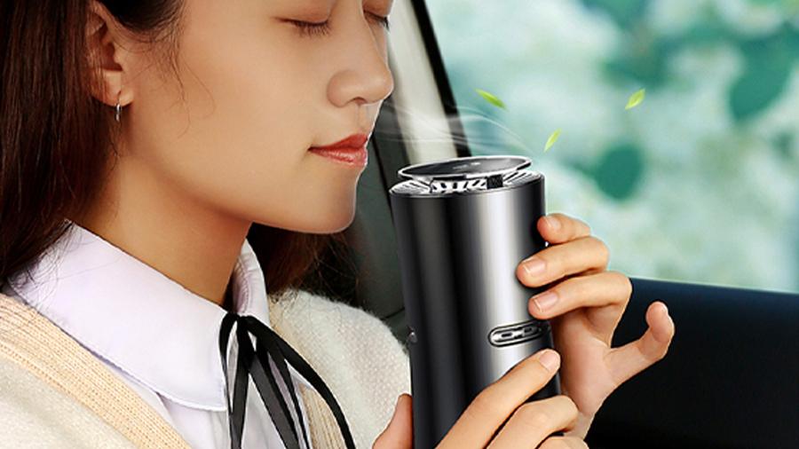 تصفیه کننده و خوشبو کننده هوای خودرو جویروم Joyroom Car Aromatherapy Diffuser دارای رایحه آرامبخش