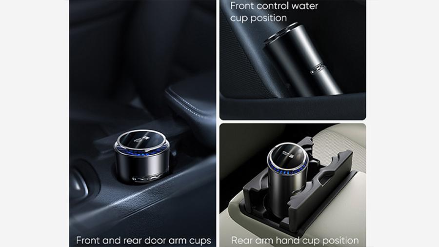 تصفیه کننده و خوشبو کننده هوای خودرو جویروم Joyroom Car Aromatherapy Diffuser قابل استفاده در همه جای خودرو