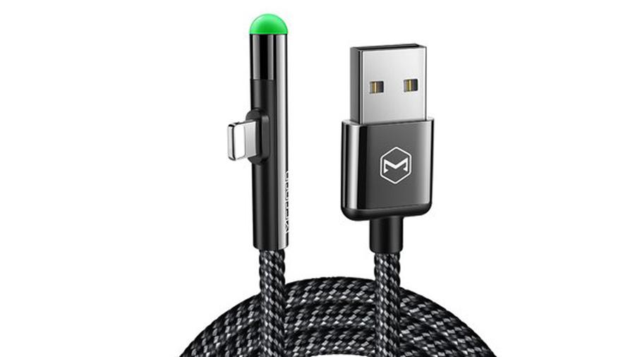کابل شارژ و انتقال داده 1.8 متری لایتنینگ مک دودو MCDODO 90 Degree Lightning Data Cable 1.8M CA-627