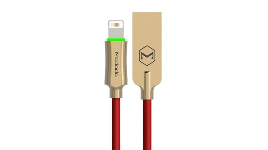کابل شارژ و انتقال داده 1.8 متری لایتنینگ مک دودو MCDODO Auto Disconnect Lightning Data Cable 1.8M CA-390